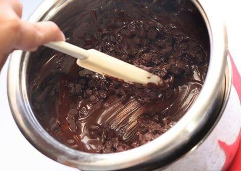 Cách làm socola tu bot ca cao nguyen chat
