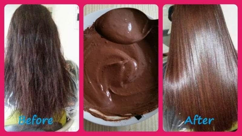 Tự nhuộm tóc bằng ca cao nguyên chất